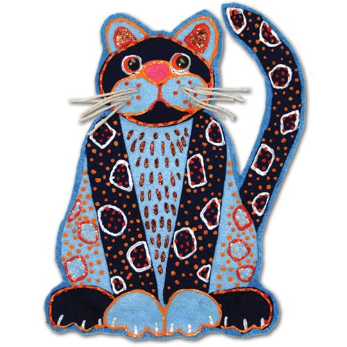 Felt Calico Cats - Project #114