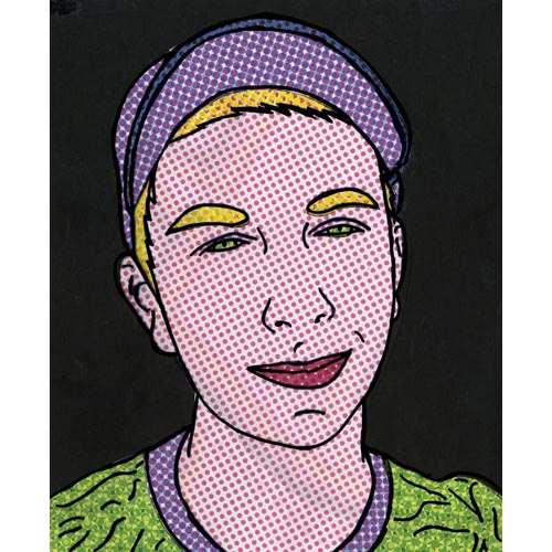 Lichtenstein-Style Pop Art Portrait - Project #15