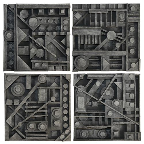 Nevelson-Inspired Wood Strip Relief - Project #161