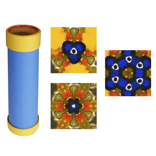 Construction Paper Kaleidoscope - Project #186