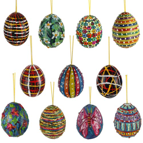 Cray-Pen Decorative and Batik Eggs - Project #206