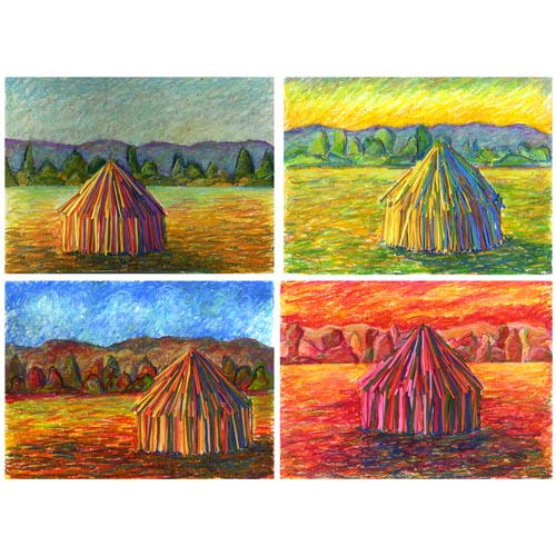 Monet-Inspired Haystack - Project #208