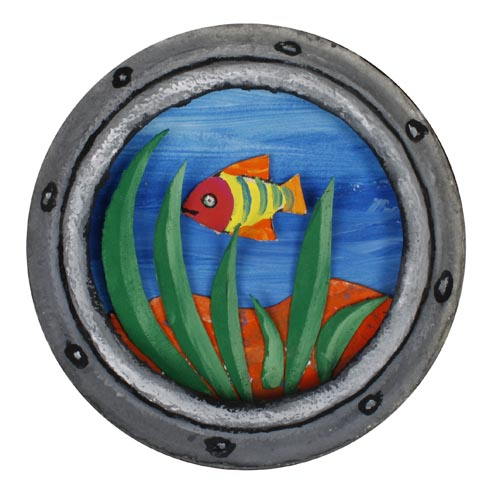 Fun With Paper Plates: Porthole - Project #222