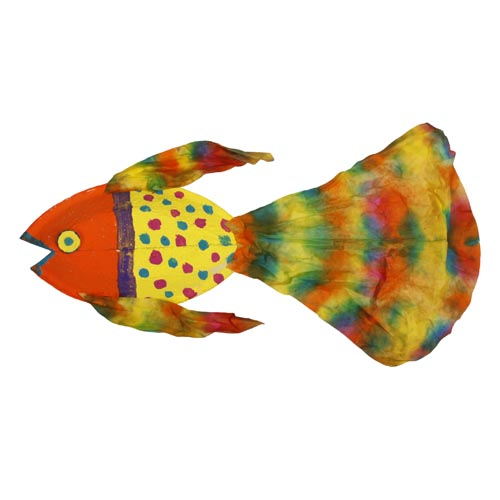 Fun With Paper Plates: Fancy Guppy - Project #223