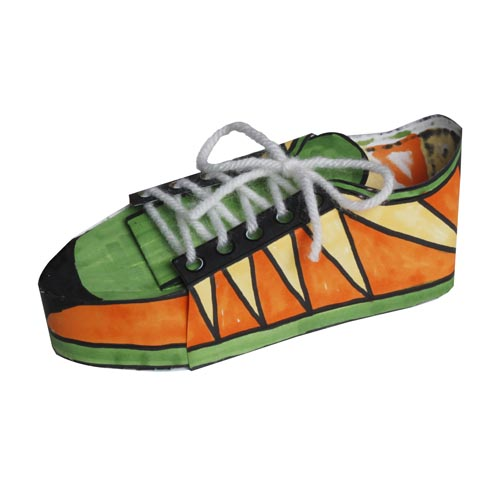 Pop Art Tennis Shoes - Project #237