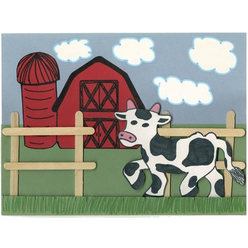 Barnyard Cow - Project #238