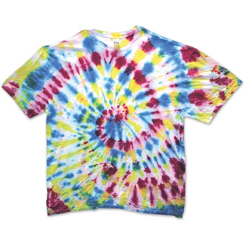 Jacquard Tie-Dye T-Shirts - Project #24