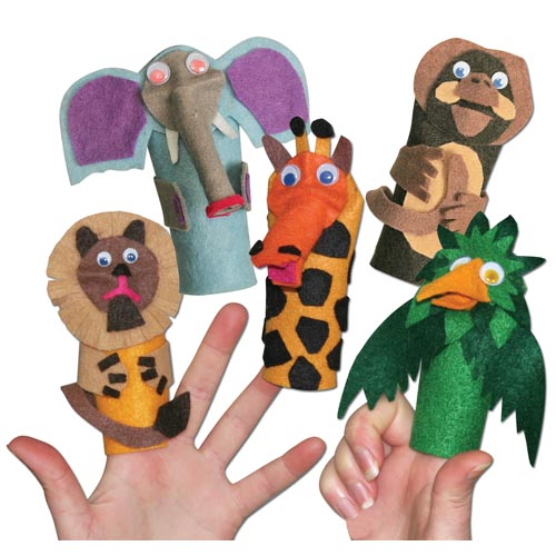 Felt Finger Puppets - Project #58