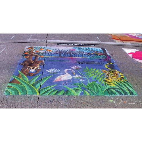 Sidewalk Chalk Drawing - Project #84